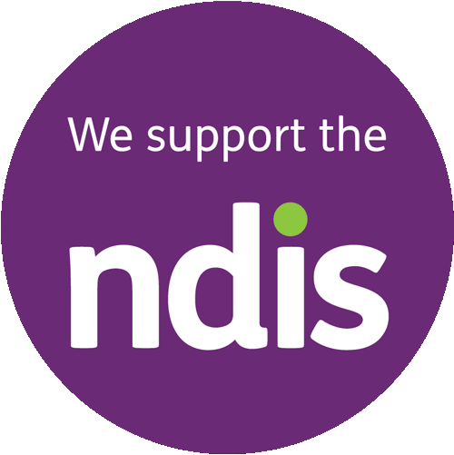 We support NDIS Badge